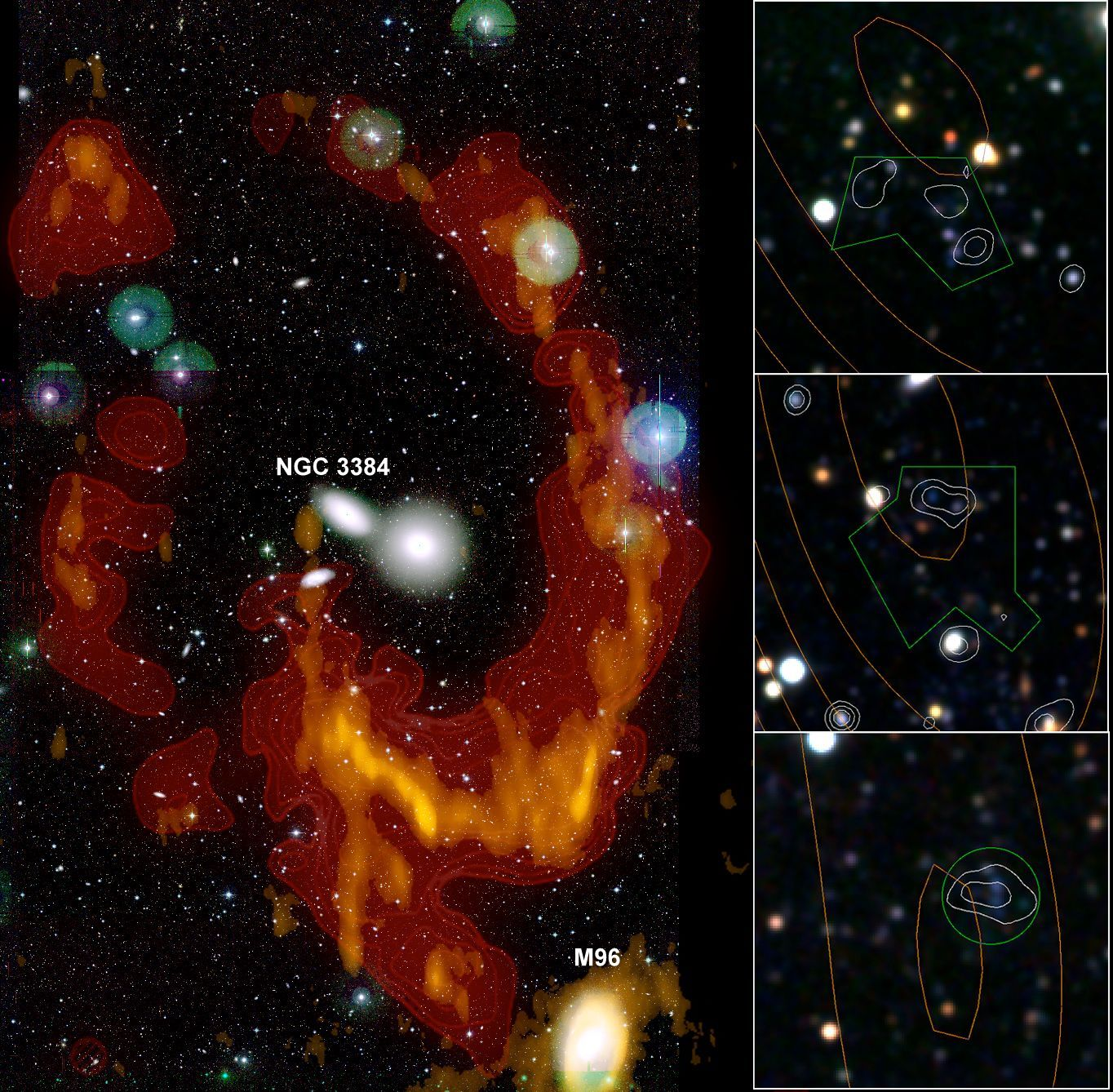 News Cfht Leo Ring Is A Remnant Of An Old Galaxy Collision
