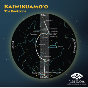 'Imiloa's sky map of Kaiwikuamo'o