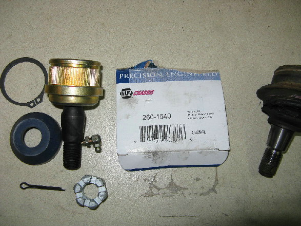 Ford Ranger Upper And Lower Ball Joint Replacement